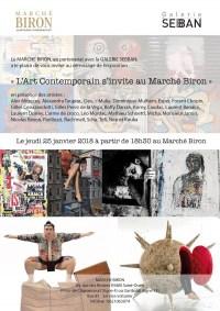 Exposition L'Art Contemporain s'invite au Marché Biron