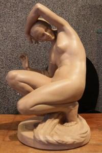 sculpture baigneuse de M.Bourraine