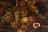 Tableau de H. Velten Nature morte aux Fruits XIXème