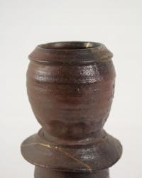 Steen Kepp - Vase en grès cuisson four à bois, vers 1980