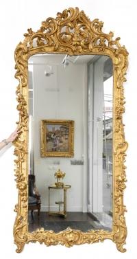 Grand miroir Louis XV
