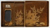 Ecritoire japonais en laque (suzuri bako) 19ème siècle