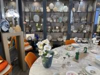 RENE LALIQUE  : Vase  «Biskra » Opalescent