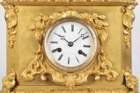 A French 19th Century Louis Philippe Ormulu Orientalist Clock