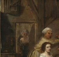 Repas paysan dans une taverne – entourage de David Ryckaert III (1612 – 1661)