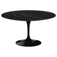 "Eero Saarinen & Knoll International ""Tulip"" Table 137 cm ""Marquina"""