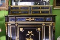 Meuble en ébène à décor lapis-lazuli NIII