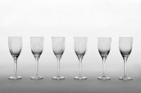"""LALIQUE 20 Flutes Champagne, modèle """" Ange """"Sourire de reims"""