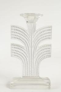 """René Lalique Paire de Bougeoirs """"Tokyo"""""""