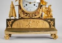 A 1st Empire period (1804 - 1815) clock.
