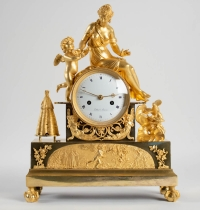 A 1st Empire period (1804 - 1815) clock.