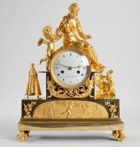 Pendule d'époque 1er Empire (1804 - 1815).
