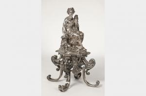 Orfèvre FROMENT MEURICE - Sculpture allégorique en argent