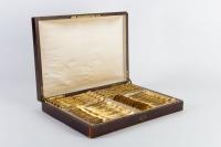 Service Napoléon III en vermeil avec sa boite d'origine