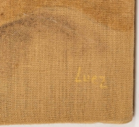 Nue , huile sur toile , XXème siècle