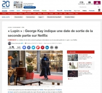 20 Minutes - Lupin avec Omar Sy au Marché Biron