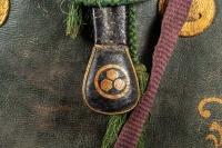 Saddle - Detail of the chikara-gawa