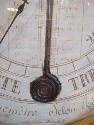 Baromètre d'époque Louis XVI (1774-1793).