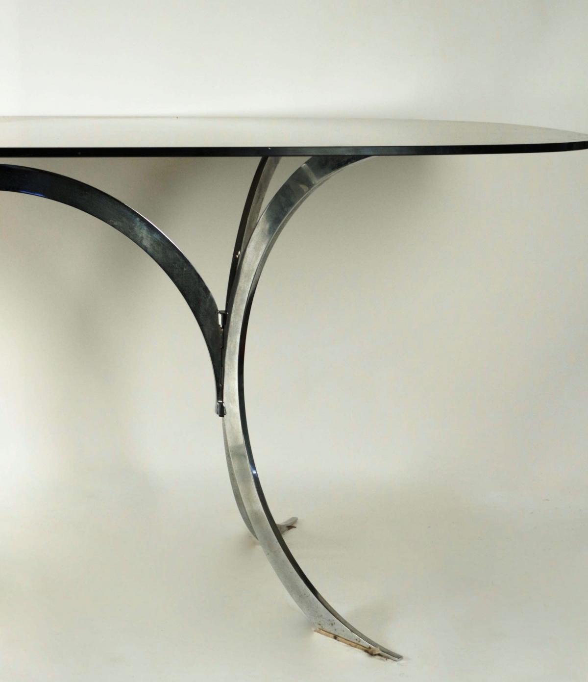le march biron table de salle manger ann es 70. Black Bedroom Furniture Sets. Home Design Ideas