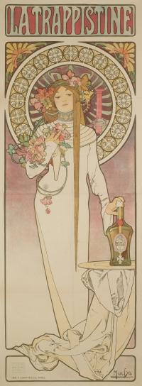 Alphonse Mucha - La Trappistine - 1897