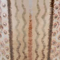 Vase conique porcelaine émaillée de SEVRES décor de Jean LUCE