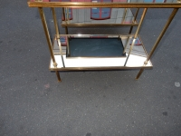 1970' Paire de Tables Ou Etagéres  Maison Bagués, 60 X 30 cm