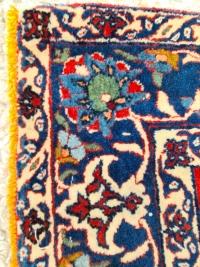 Important Et Fin Tapis Ispahan Chahreza Laine Et Trame Soie - Iran Vers 1920