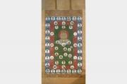Peinture japonaise en rouleau de Bouddha