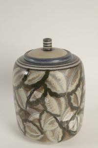 Boite en céramique de Sèvres art déco