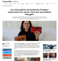Article de Presse - Catherine Pradeau et les accordéons Maugein - France Info Culture