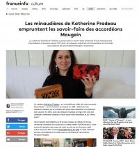 Article de Presse - Catherine Pradeau et les accordéons Maugein - France Info Culture