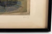 Lithographie encadrée de Goetz signée 50/100