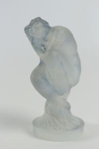 RENE LALIQUE (1860-1945) Statuette «Sirène» bouchon de radiateur
