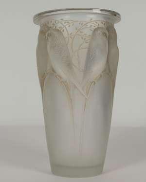 René LALIQUE Vase Ceylan