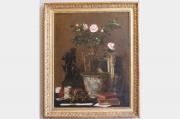 « Nature morte » de Jules LARCHER (1849-1920)