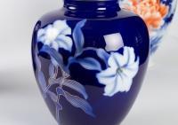 Vases japonais en porcelaine des fours de Fukugawa