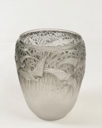 """René Lalique Vase """"Aigrettes"""""""