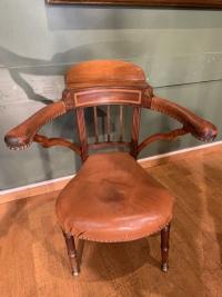Coq Fighting Chair. Début XIXème.