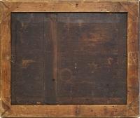 l'escarpolette huile sur panneau reprise du tableau de JB Pater