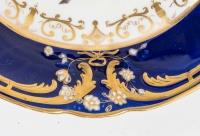 Trois assiettes anglaises, XIXème
