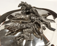 Soup tureen covered in silver by SOUCHE LAPPARRA