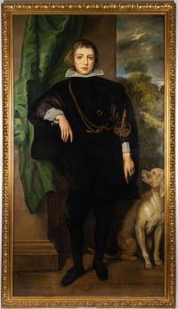 Portrait De Carlo Emanuel d'Este. Alexandre Fischer (1869-1942)
