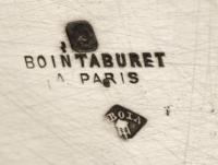 BOIN TABURET - JARDINIERE EN ARGENT XIXè