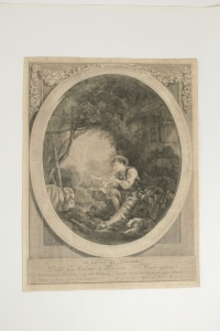 """Paire Degravure Romantique, XIXème Siècle, """"le Départ Du Courrier"""" L'arrive Du Courrier"""""""