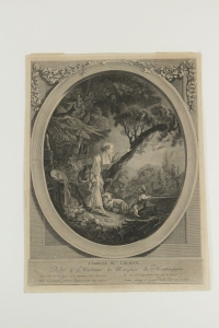 "Pair Degravure Romantic, XIXth Century, ""The Departure Of The Courier"" The Arrival Of The Courier """
