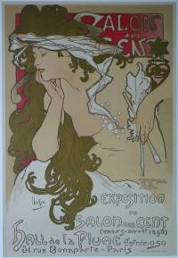 Alphonse Mucha - Salon des Cent - 1896