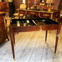 Table Tric Trac Louis XVI Estampillée A.m Schmidt