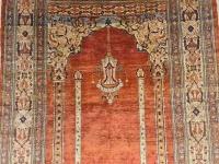 Tapis Tabriz Soie - Haji Jalili - Iran Vers 1870
