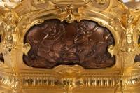 Jardinière en bronze doré Napoléon III