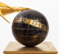 Pendule d'époque Empire figurant Uranie